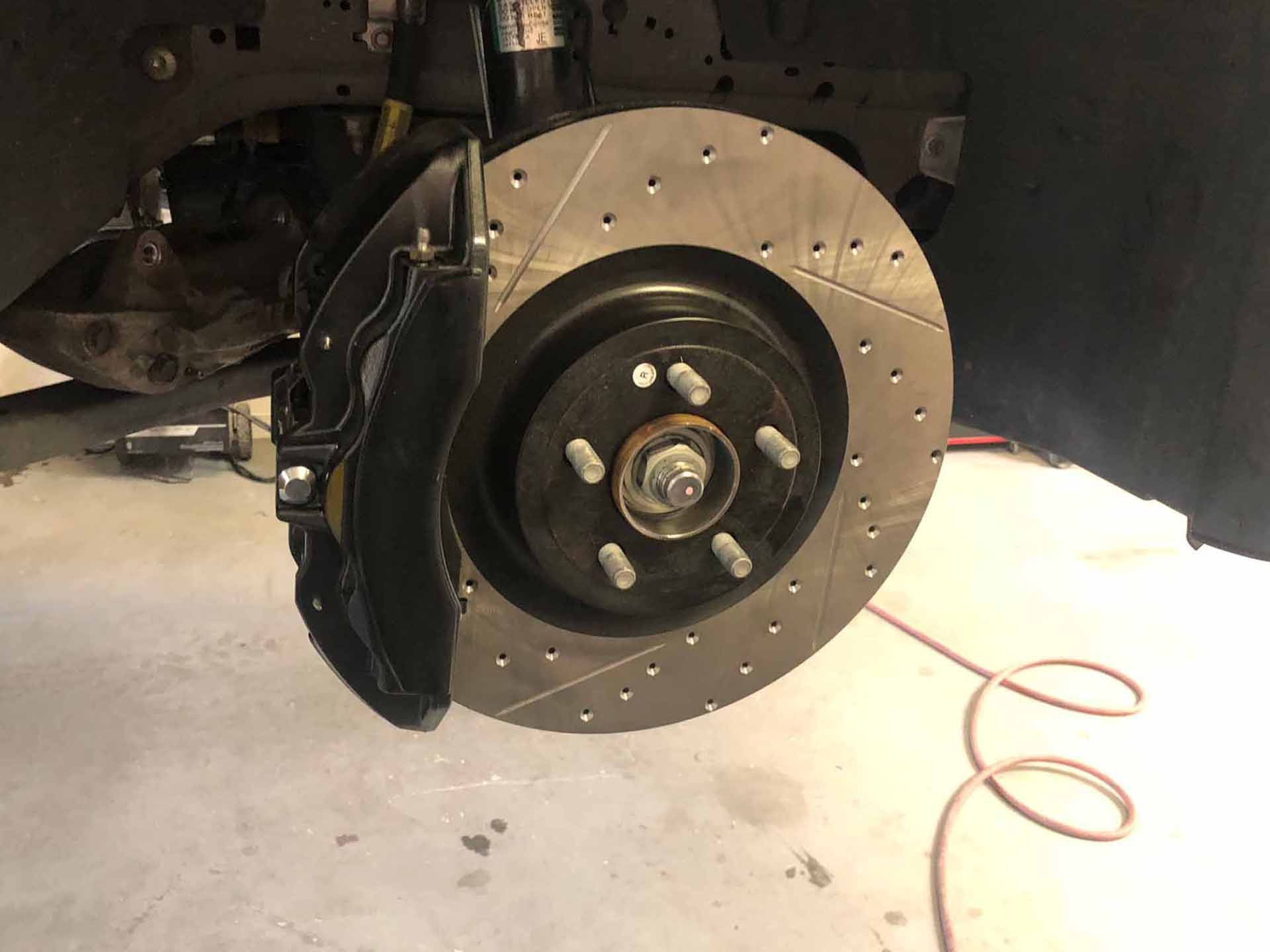 Mustang 5-0 Brakes after