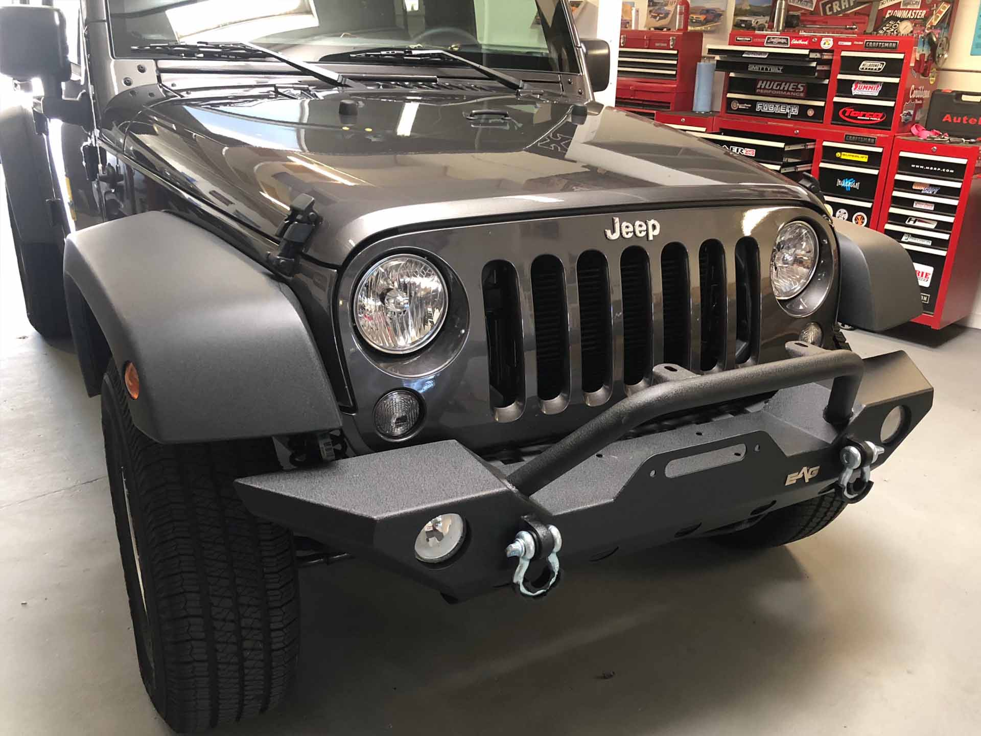 2018 Jeep Bumper after