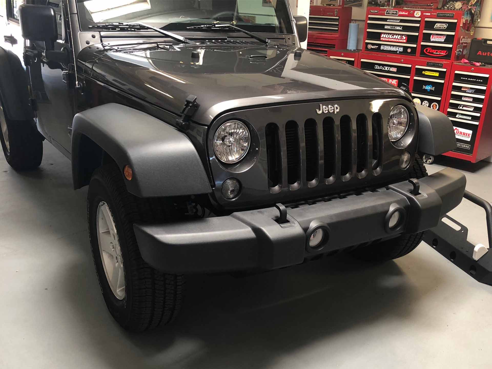 2018 Jeep Bumper before