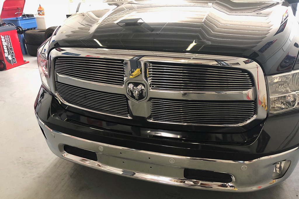 dodge grill and rear